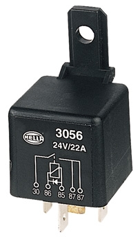 Normally Open Relay with Diode - 5 Pin (24V DC)